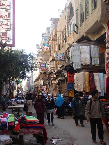 開羅傳統跳蚤市場一角