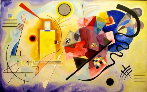 "Wassily Kandinsky ""Gelb-Rot-Blau"" - Centre Georges Pompidou - Paris"