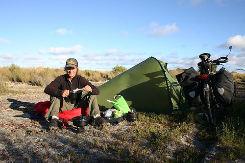 Wild camping south of Meningie...
