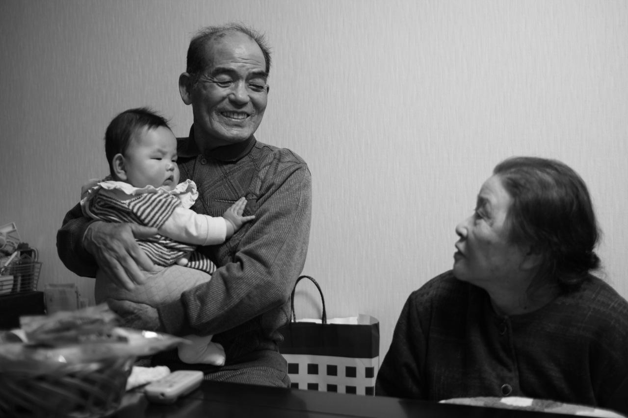 ひいじいちゃん、ひいばあちゃんと。(福島)