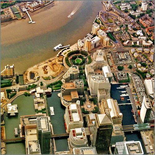 Aerial map, London - 5-1