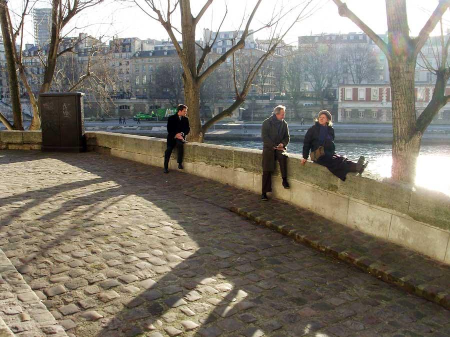 Détente sur les quais de Seine