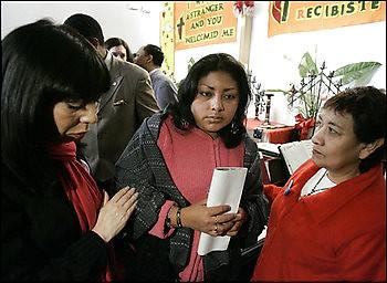 Immigration Activist Church