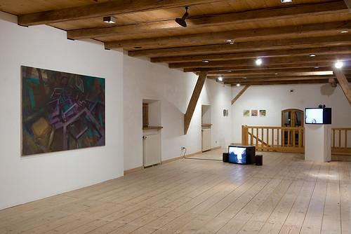 """Ausstellung Obsession LA  Ansicht mit Arbeit von Nikolaus Steglich und Christoph Kern <a href=""""http://www.ngla.de/index.php?aktuell"""" rel=""""nofollow"""">www.ngla.de/index.php?aktuell</a>"""