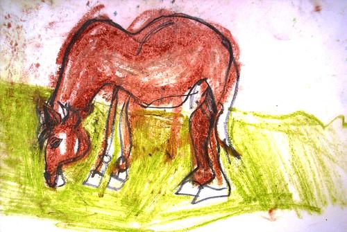 otro caballo que estaba por ahí