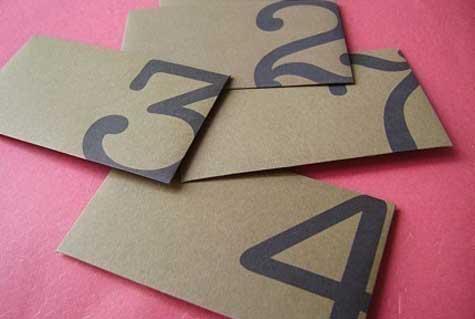 brown-number-envelopes