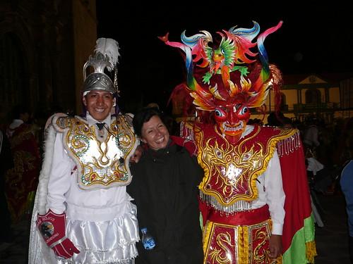 Peru , Puno Diabladas !!