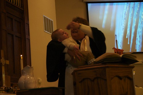 Eli and Avery's baptism