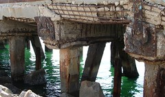 Strong & Stable (Hamed Saber) Tags: green water break iran jetty ruin getty persiangulf bandarabbas ruination hormozgan upcoming:event=418807 haghanijetty haghanigetty