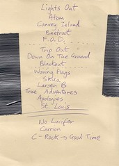 British Sea Power - Setlist 3-21-2008z