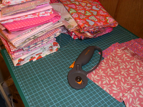 The making of a quilt – starting is easy