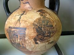 Etruscan Black Figure amphora (diffendale) Tags: italy vatican rome roma museum ceramic ancient italia vaticano pottery museo etruscan blackfigure etrusco gregoriano 6thcbce 520sbce 510sbce latolfagroup etruscanblackfigure astaritacollection lastquarter6thcbce 4thquarter6thcbce