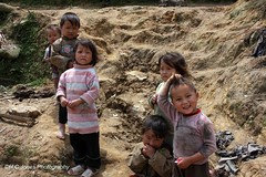 Sapa Hill Tribe Kids (hcjonesphotography) Tags: poverty mountains children village poor terraces vietnam ethnic sapa hilltribe