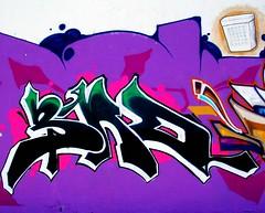 BAD (See El Photo) Tags: ca street city urban 15fav favorite streetart color art wall trash writing word graffiti paint purple grafiti graf letters bad urbanart 100views 200views spraypaint fav lettering graff trashcan cbs grafite sunvalley  111v1f  looksgood dentalfloss seeelphoto paintedovernow chrislaskaris
