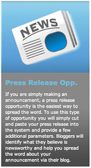 PayPerPost Press Release Opportunity