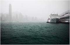Untitled (matt p) Tags: mist colour water canon hongkong 350d harbour sigma kowloon 1020