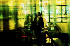 this.that (GraemeNicol) Tags: china street urban blur reflection youth night shopping evening asia availablelight candid dalian adolescent fakexpro
