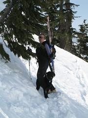 Me & my dog (Mary & Dan) Tags: mary karma seymour