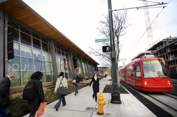 Discovery Center at South Lake Union, Seattle, walk score: 100, photo by Yoram Bernet