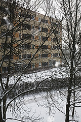 hagalund (ulf isacson) Tags: vinter stockholm solna sn boende frort hyreshus fastighet lgenheter