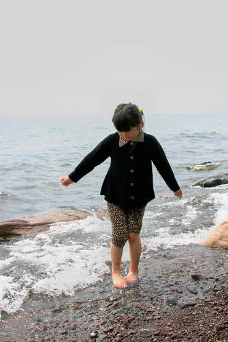 Testing the Cold Lake Superior Water