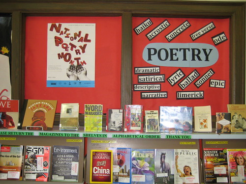 April is National Poetry Month by nataliesap.