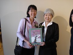 Ruth Ohi and Joy Kogawa unveil Naomi's Tree