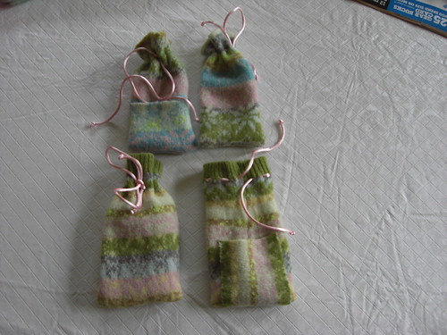 Recycled Sweater Ipod Cozies
