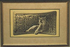Inner Spirit - cougar and native american cougar tablet (thetotemhunter) Tags: art archaeology nature birds animals pencil painting penguin artwork eagle dolphin wildlife seagull baldeagle lion drawings fox flyingfox mythology lioncub coloredpencil artexhibition natureart primativeart wildlifeart coloredpencilart wildlifeartwork naturedrawings coloredpencilartwork artworkexhibition coloredpencilexhibition mythologyart archaeologyart