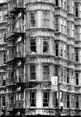 Architecture of Time (Thomas Hawk) Tags: sanfrancisco california blackandwhite bw usa architecture blackwhite unitedstates fav50 10 unitedstatesofamerica fav20 northbeach fav30 sentinelbuilding fav10 fav25 fav40 northbeachdistrict superfave photowalking7