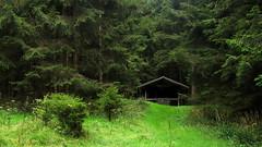 Hütte an der Aschentalshalbe