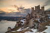 Rocca Calascio (gab 79) Tags: abruzzo gransasso parco parcogransasso roccacalascio gnd4 nd10stop canonef24mmf14lusmii nd10