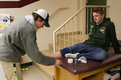 Sports Med-2 (New Hampton School) Tags: adamtyson athletictraining sportsmedicine