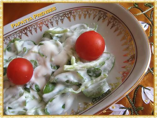semizotu salatası 2