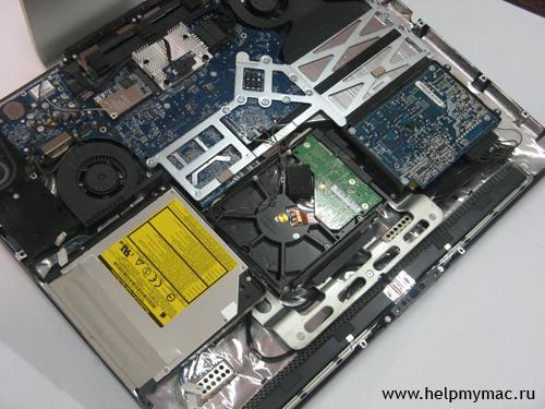Внутри iMac