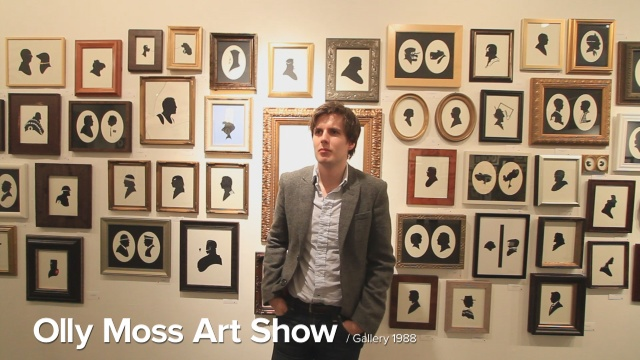The Olly Moss Art Show @ Gallery 1988 on Vimeo by Threadless.com