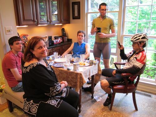 Breakfast at Mom's