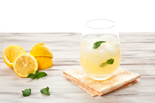 Basil & Mint Lemonade