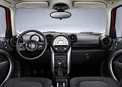 Mini Countryman Cooper SD (interior)