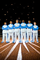 The Columbia Lions Basketball Team!