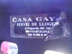 Casa Gay, servei de lloguer