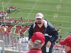 Dave at Bryant-Denny stadium