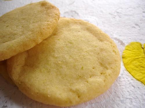 Nic's lime cookies