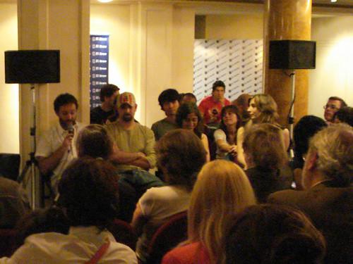 Diego Grillo Trubba en la presentación de In Fraganti