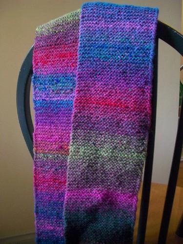 garter scarf 1