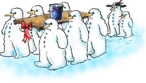 snowmanburial