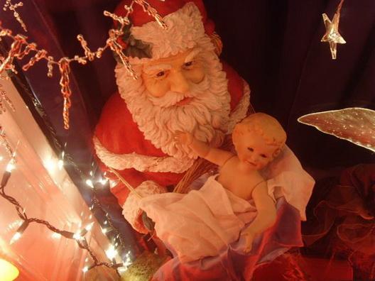Santa-Baby Jesus