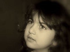Nika in different tone (Dr. Hendi) Tags: family portrait bw home me girl sepia kids children kid iran nika toned       anoosh behbahan  doctorhendii