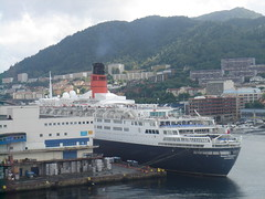QE2, Bergen (shelly-jo) Tags: cruise norway ship bergen cunard qe2