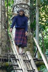 Daporijo - Arunachal Pradesh (Rita Willaert) Tags: india arunachalpradesh hangbrug daporijo